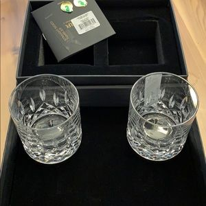 Waterford Lismore classic straight sided tumblers